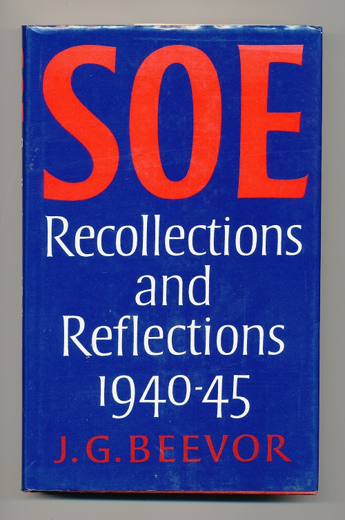 Image for SOE Recollections and Reflections 1940-1945.