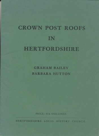 Image for Crown Post Roofs in Hertfordshire.